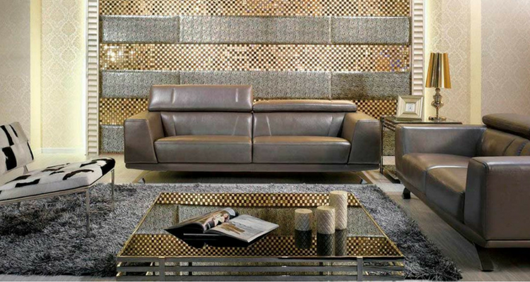 Metallic Sofa Sets