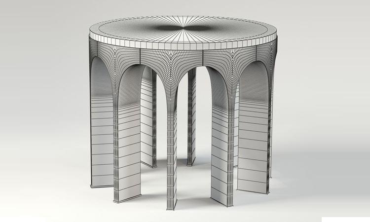 Arcade Center Table