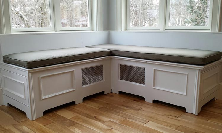 Wooden Storage Bench