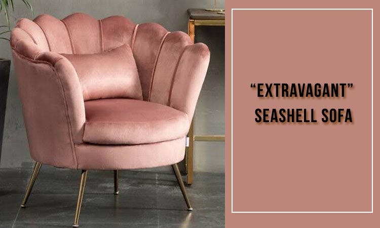 Seashell sofa