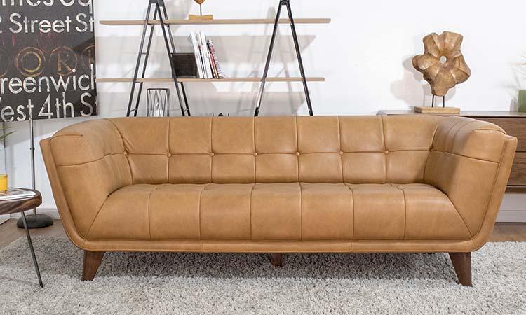 Ford Leather Sofa