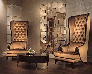Elegant Queen Chair