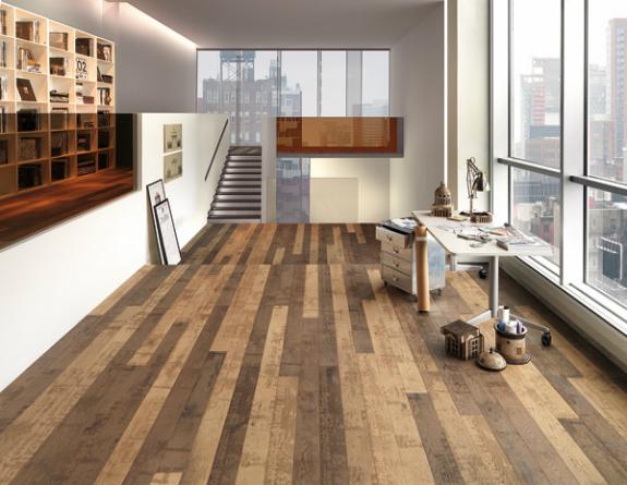 Classy Wooden Flooring Design
