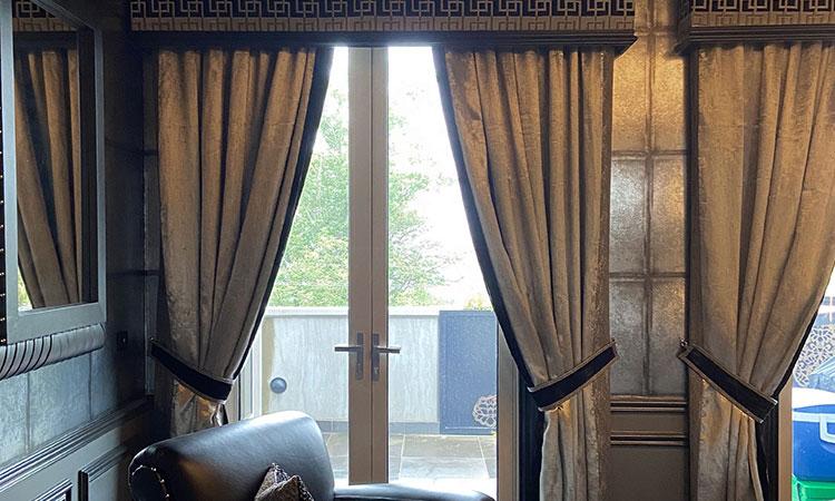 luxury window curtains