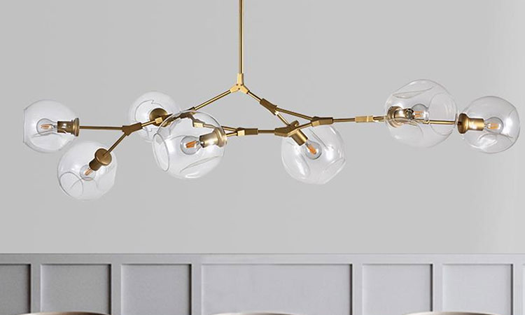 modern chandeliers for high ceilings